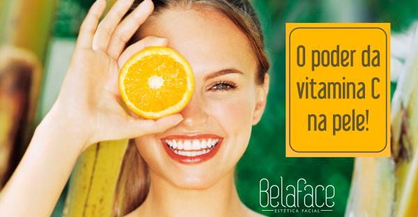 Poder Vitamina C Pele