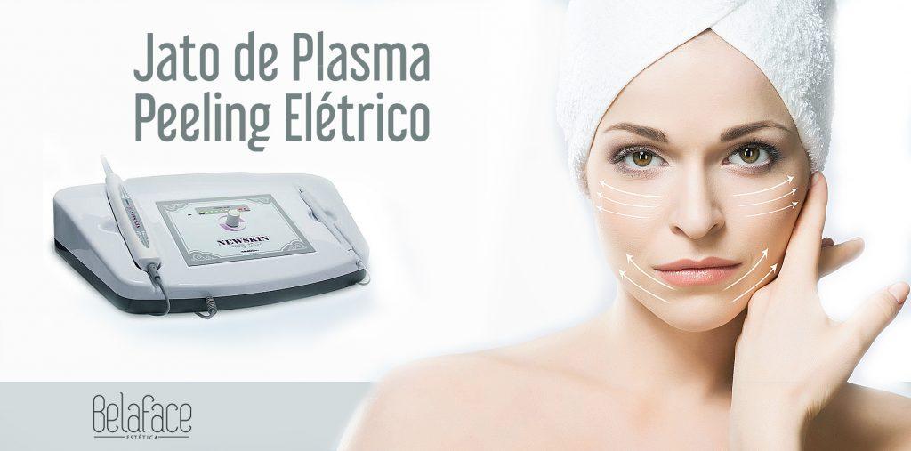 Jato de Plasma e Peeling Elétrico